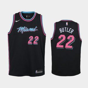 Women Miami Heat #22 Jimmy Butler Jersey